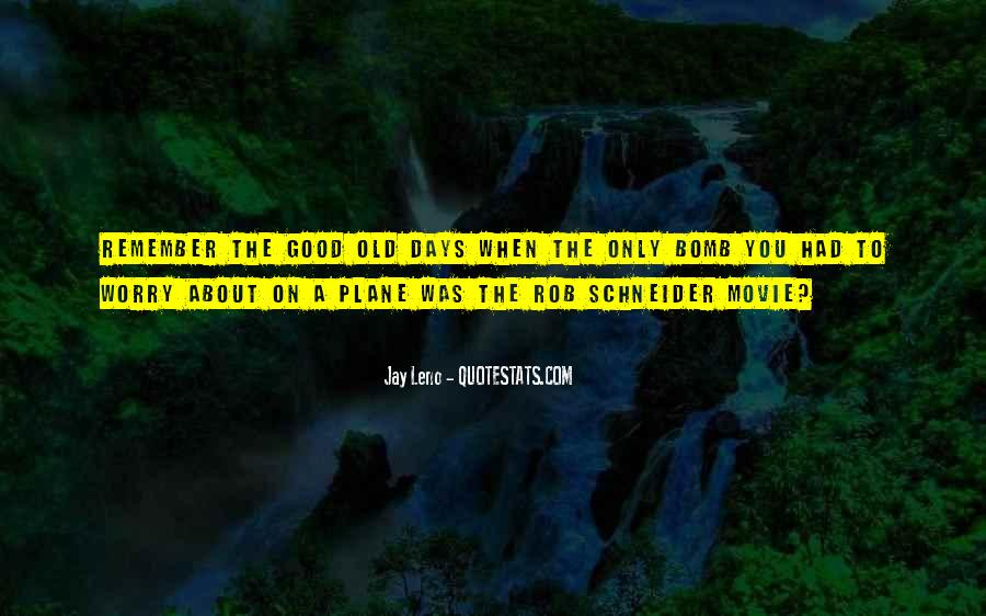One Of These Days Movie Quotes #103695