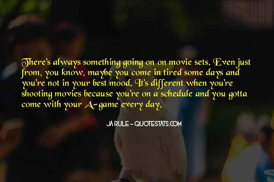 One Of These Days Movie Quotes #149321