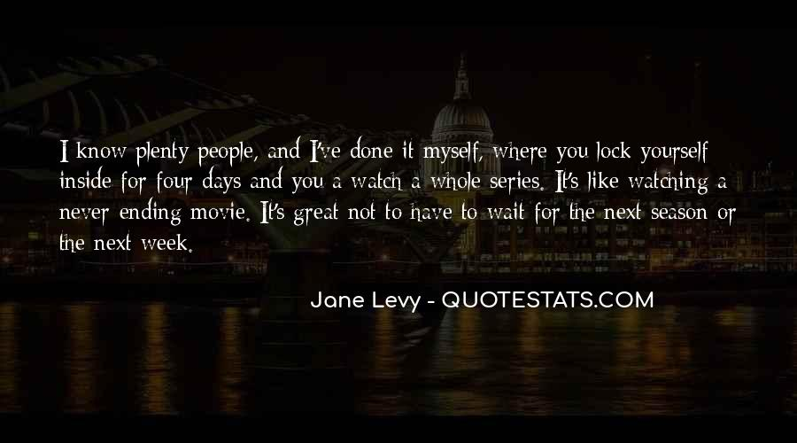 One Of These Days Movie Quotes #207222