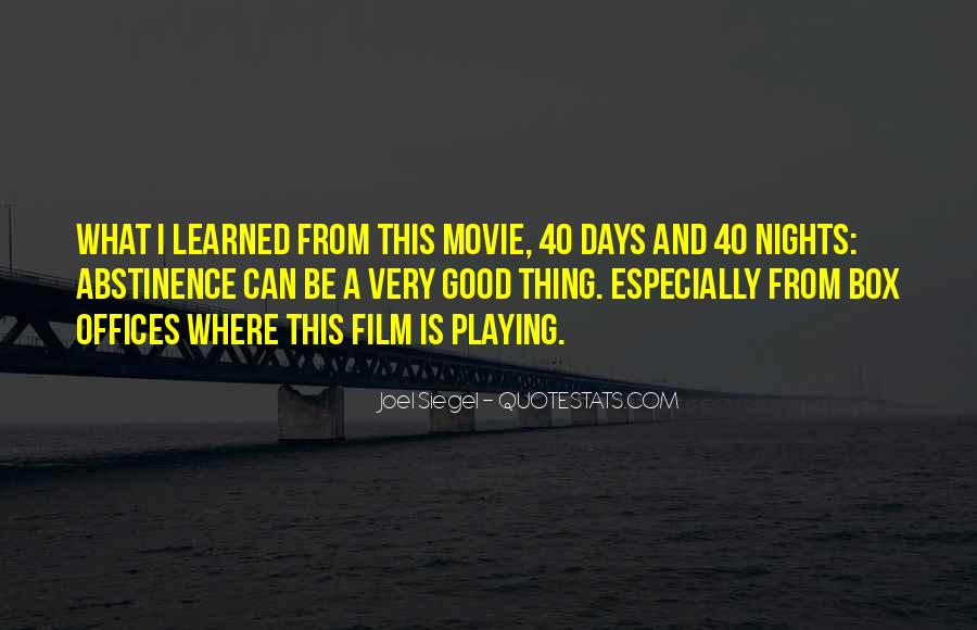 One Of These Days Movie Quotes #91789