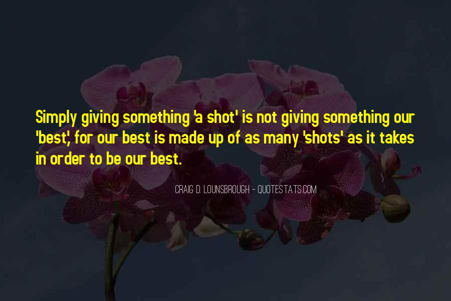 One Shot Opportunity Quotes #1021197