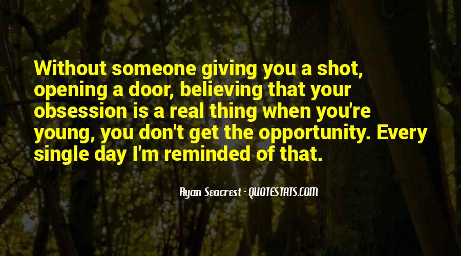 One Shot Opportunity Quotes #1532899
