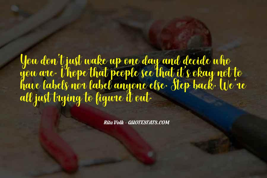 One Step Back Quotes #1244580