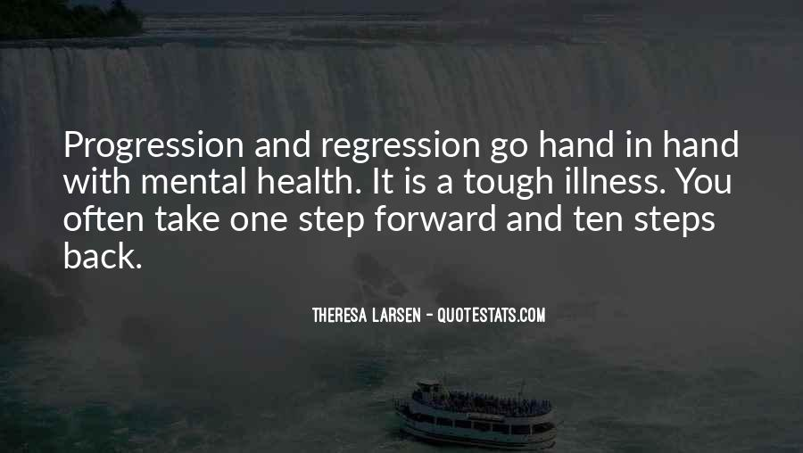 One Step Back Quotes #1474781