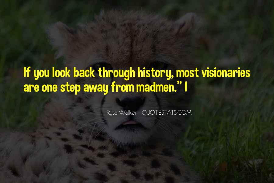 One Step Back Quotes #1526240