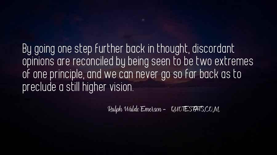 One Step Back Quotes #1778235
