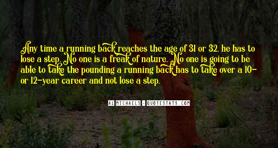 One Step Back Quotes #179992