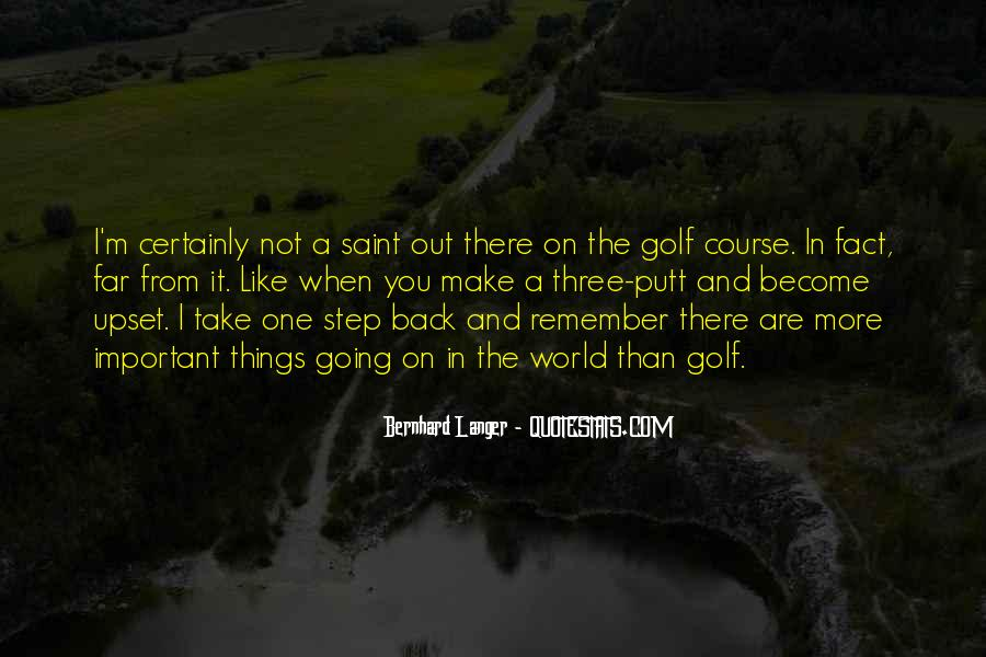 One Step Back Quotes #290226