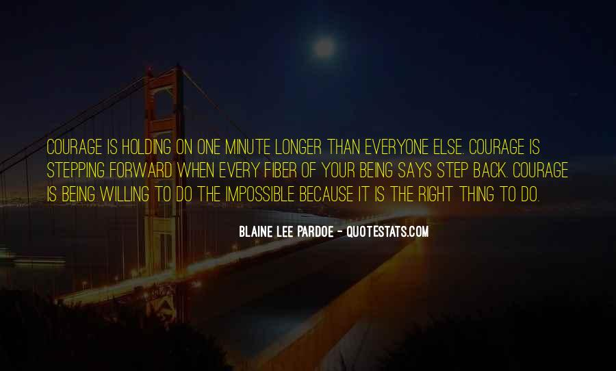 One Step Back Quotes #296574