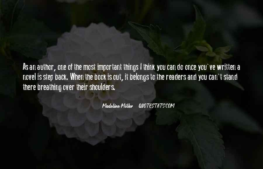 One Step Back Quotes #314413