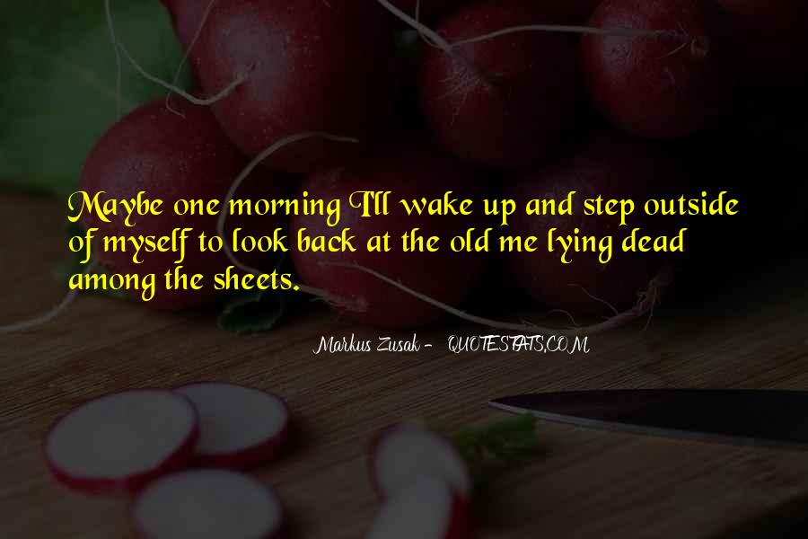 One Step Back Quotes #396670