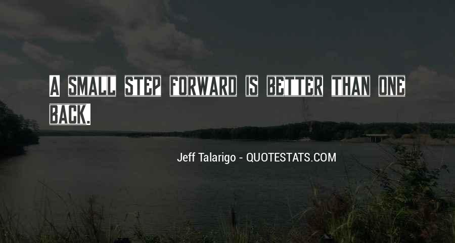 One Step Back Quotes #401767