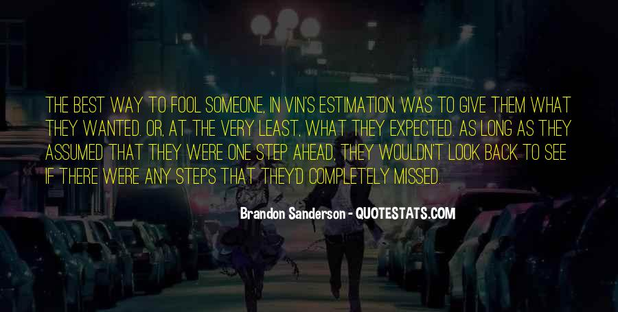 One Step Back Quotes #473518