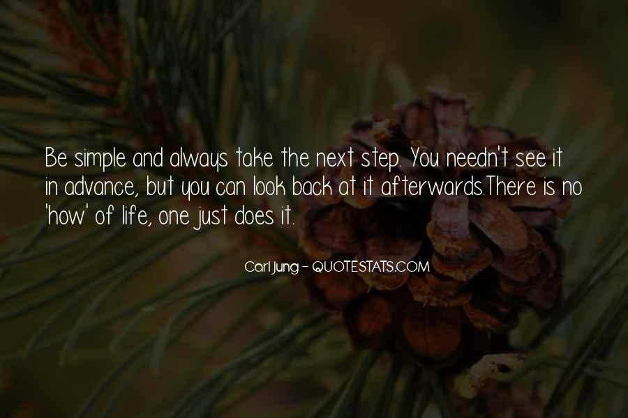 One Step Back Quotes #875077