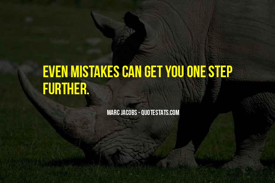 One Step Further Quotes #146313