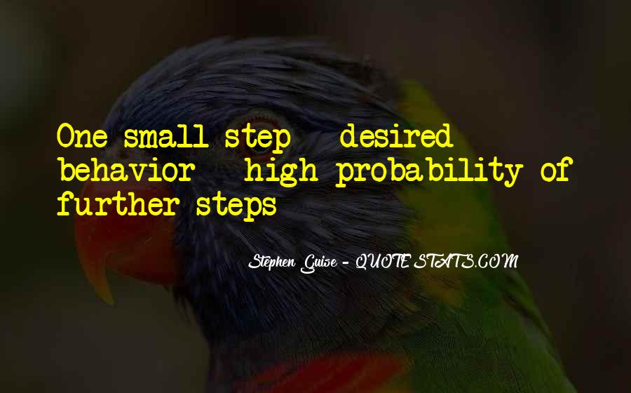 One Step Further Quotes #1663269