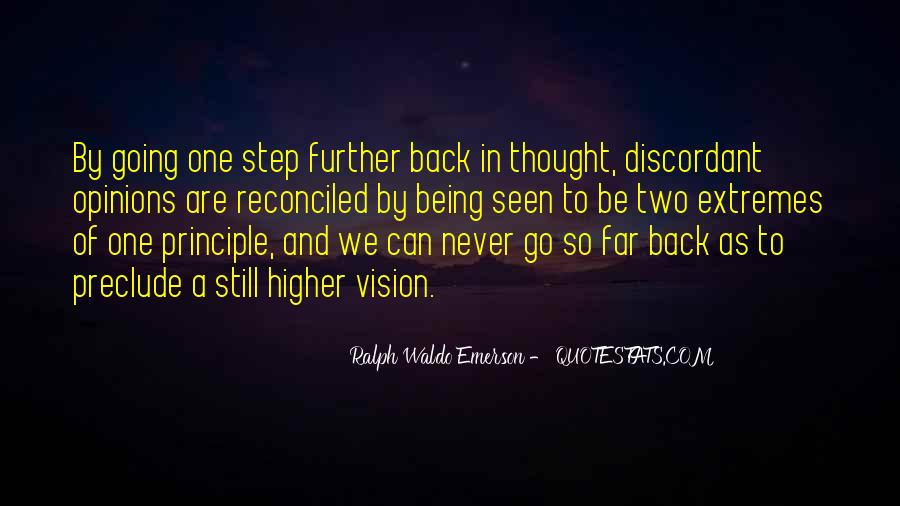 One Step Further Quotes #1778235