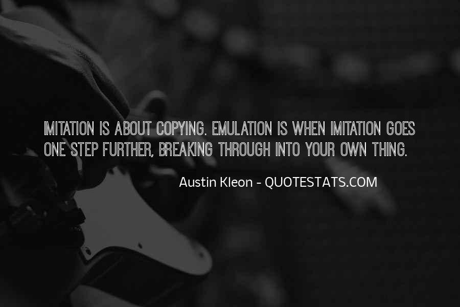 One Step Further Quotes #468384