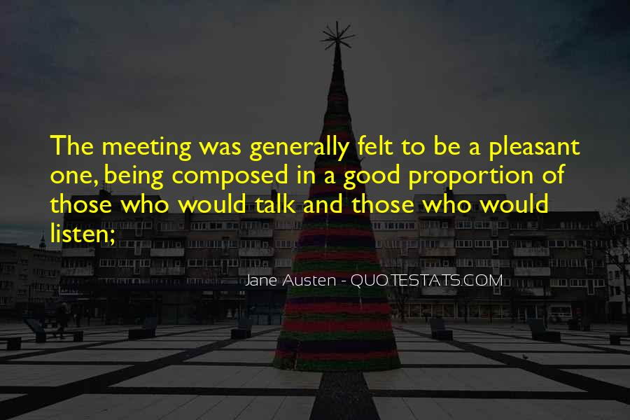 One To One Meeting Quotes #1238746