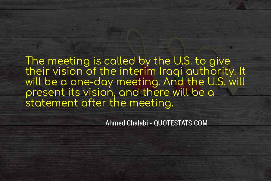 One To One Meeting Quotes #1355186