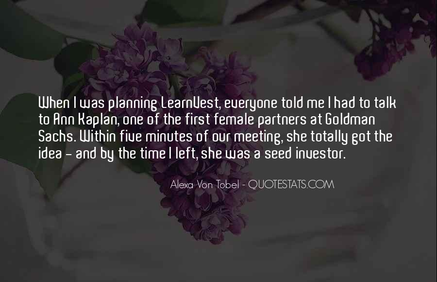 One To One Meeting Quotes #599707