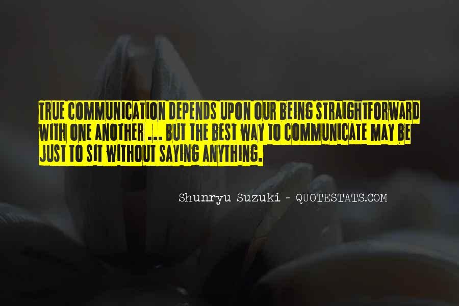 One Way Communication Quotes #1675330