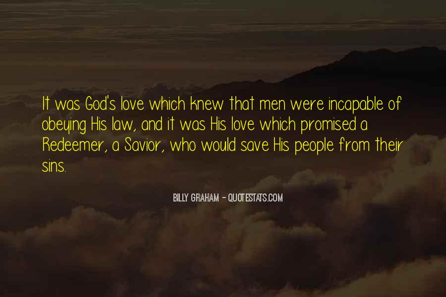 Only God Can Save Me Quotes #12634