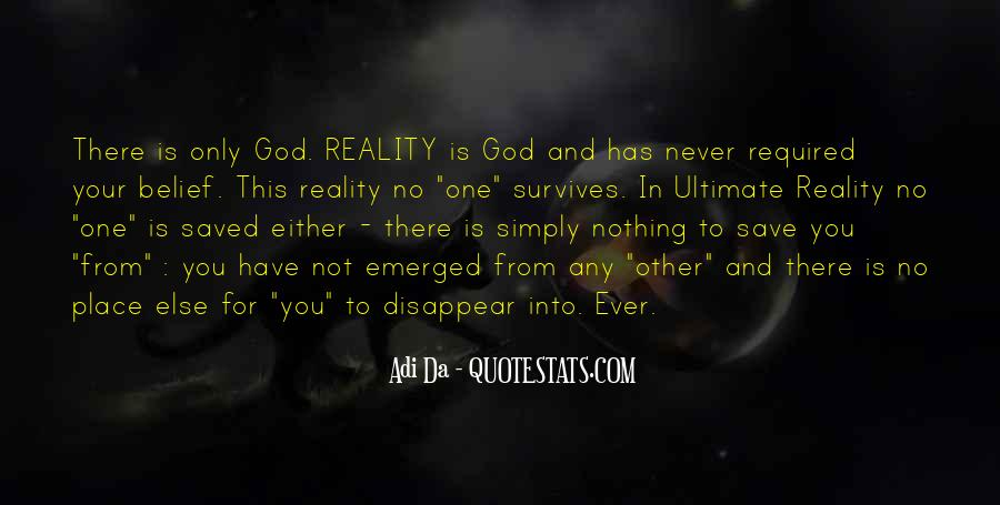 Only God Can Save Me Quotes #60252