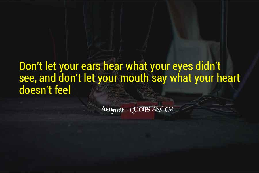 Only Have Eyes For You Quotes #1148