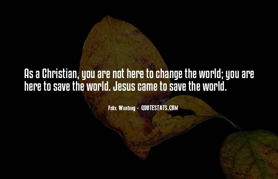 Only Jesus Can Save Quotes #243071