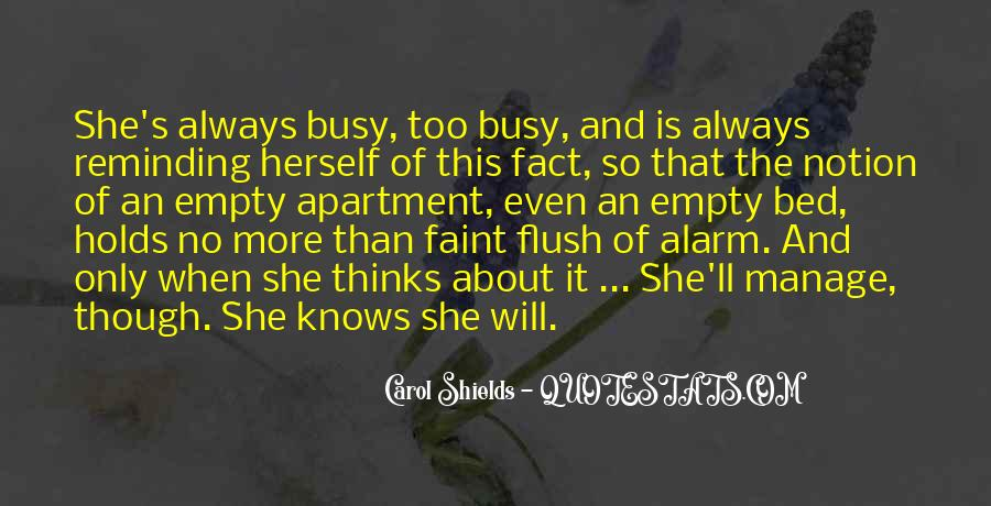Only She Knows Quotes #1288011