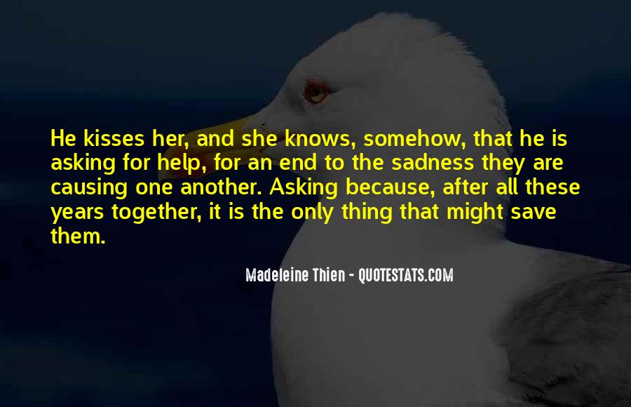 Only She Knows Quotes #1293181