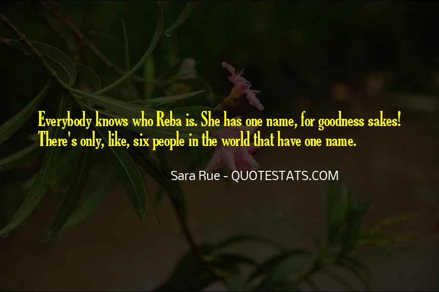 Only She Knows Quotes #1616287