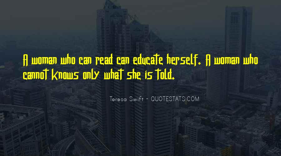 Only She Knows Quotes #22965