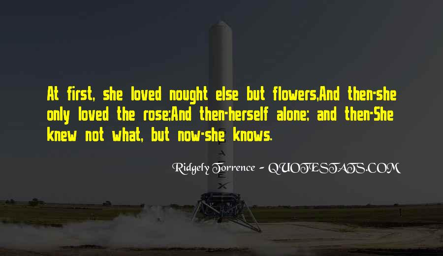 Only She Knows Quotes #99989