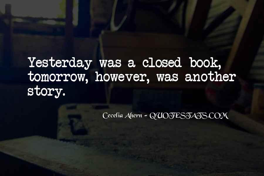 Only Yesterday Book Quotes #1696331