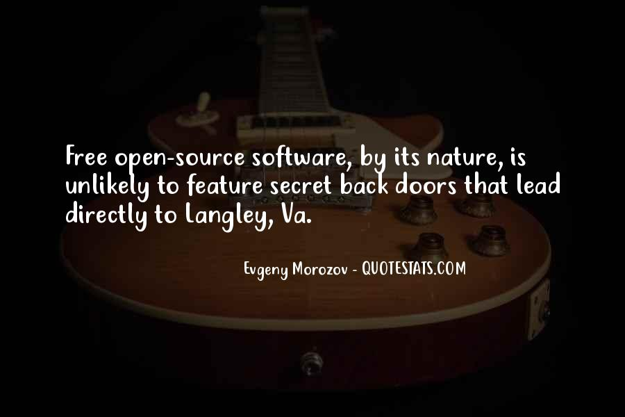 Open Source Software Quotes #1337249