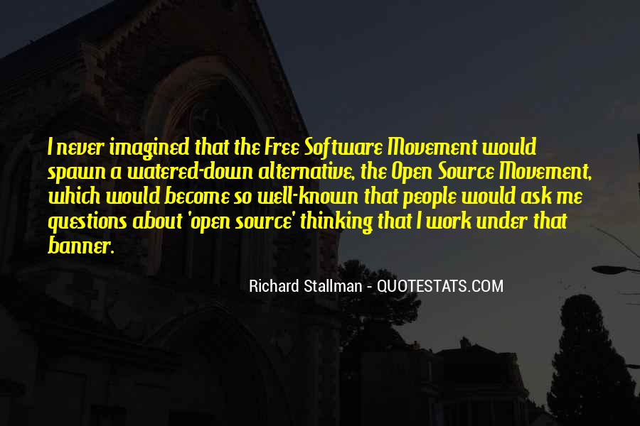 Open Source Software Quotes #638798