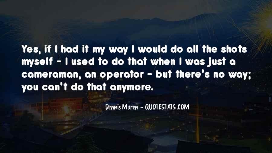 Operator Quotes #1053257