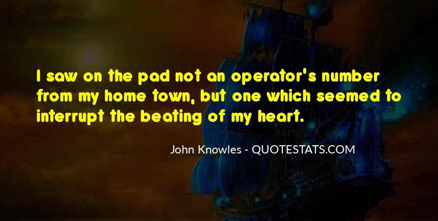 Operator Quotes #1238780