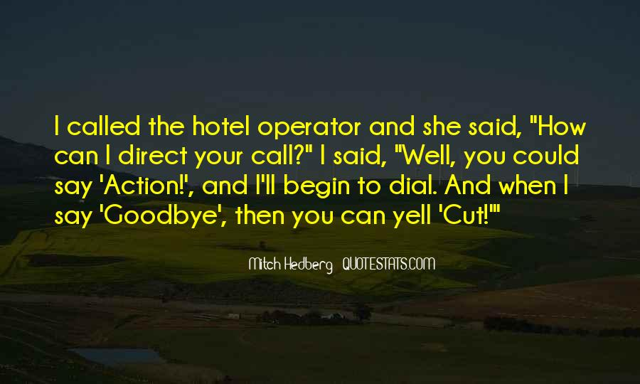 Operator Quotes #1492692