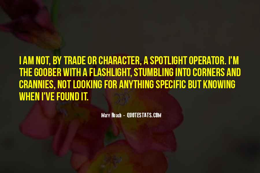 Operator Quotes #1494152
