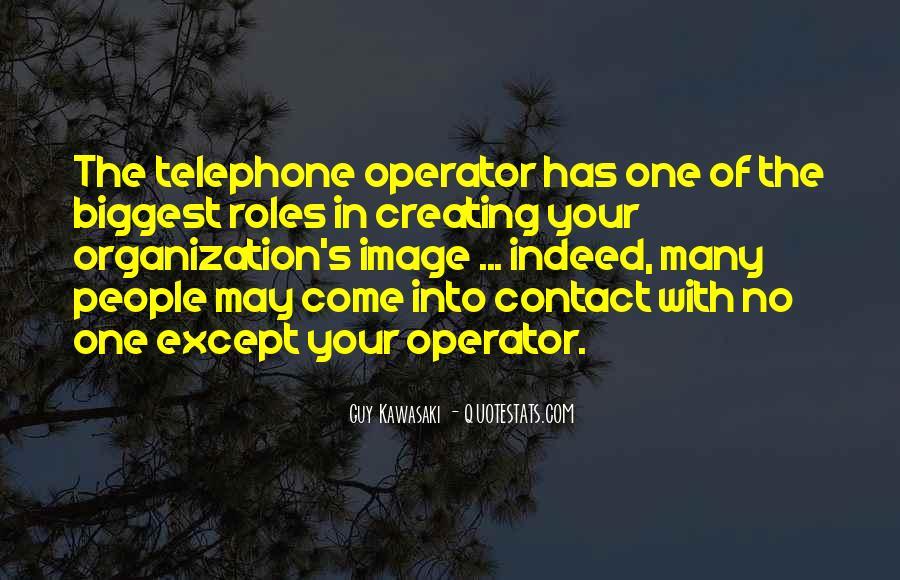Operator Quotes #1569456