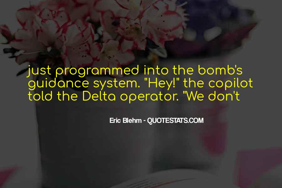 Operator Quotes #1626488