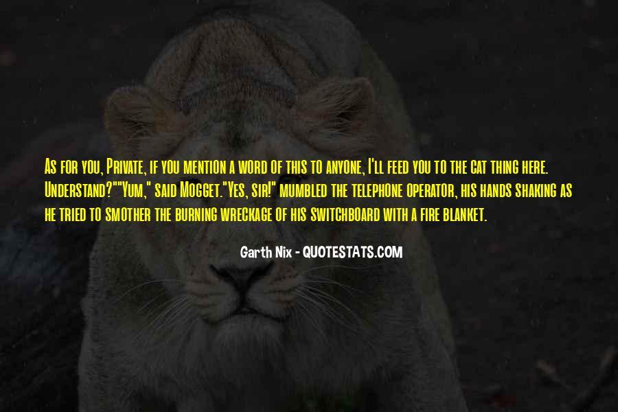 Operator Quotes #1747668