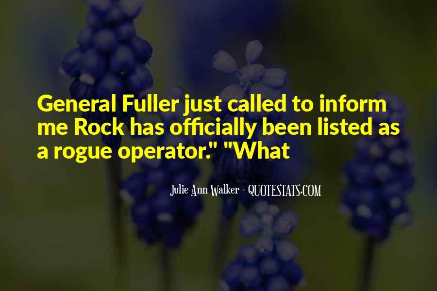 Operator Quotes #269276
