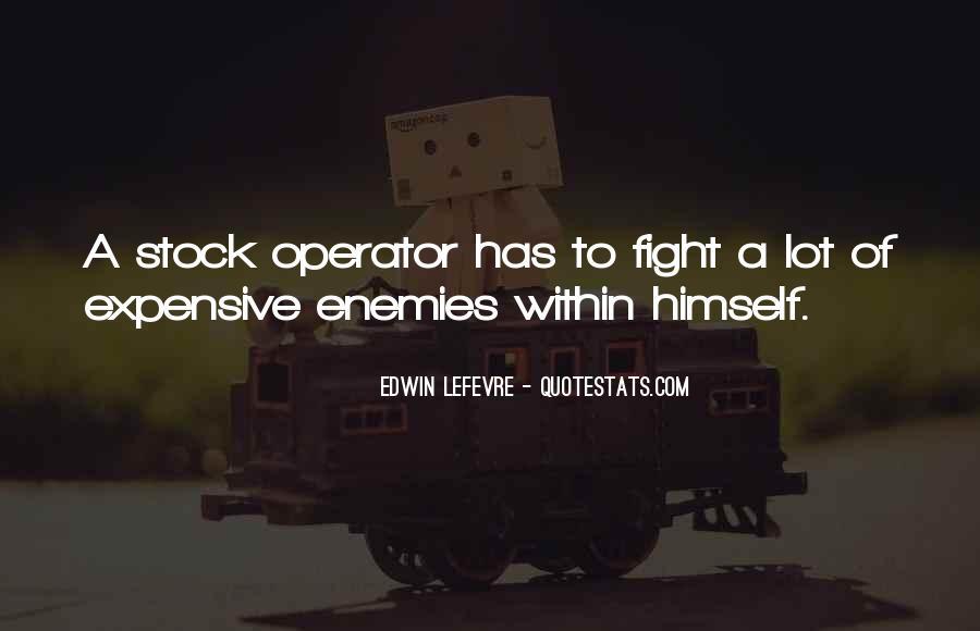 Operator Quotes #555511