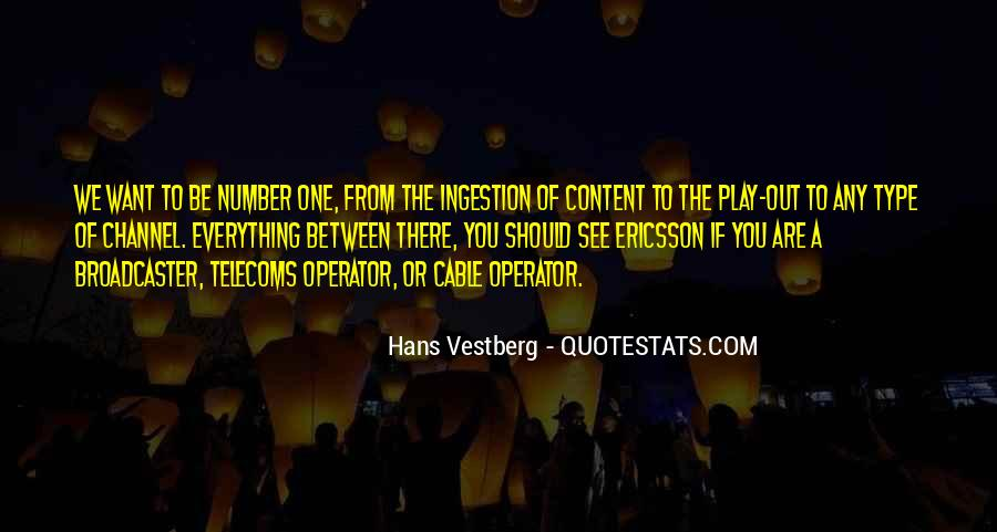 Operator Quotes #562344