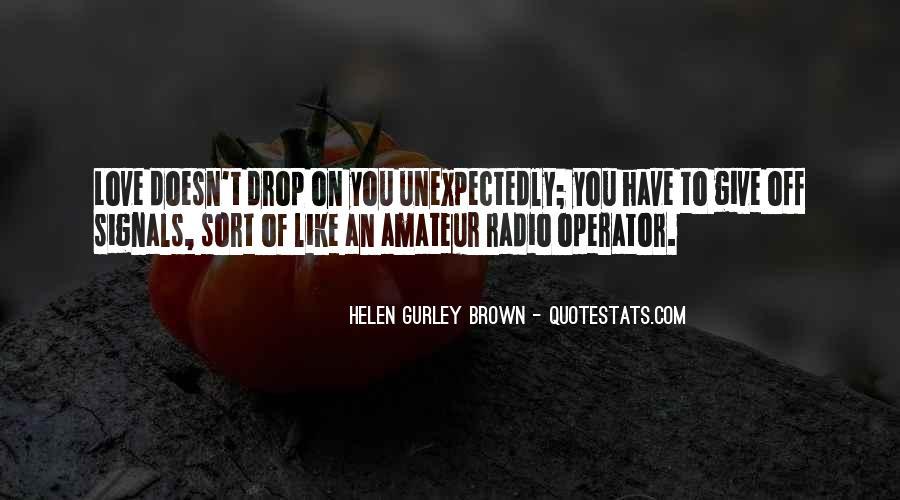 Operator Quotes #71767