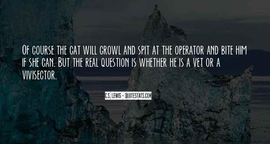 Operator Quotes #755171